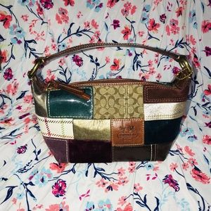 Coach Holiday Patchwork